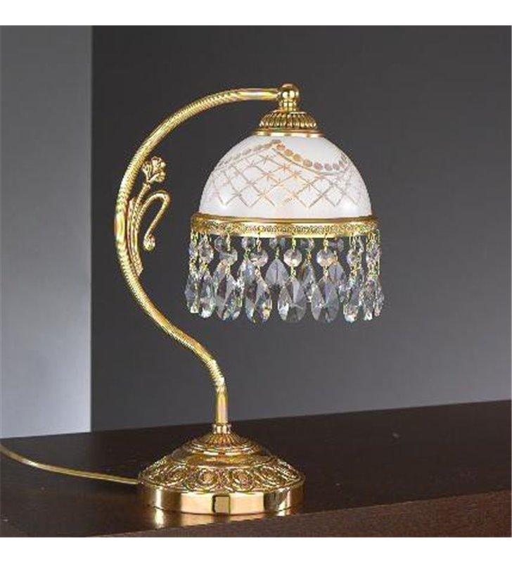 Lampa na komodę Topaz Złoto