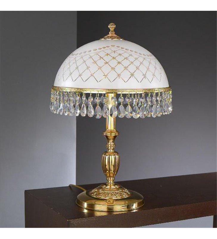 Złota lampka nocna Topaz