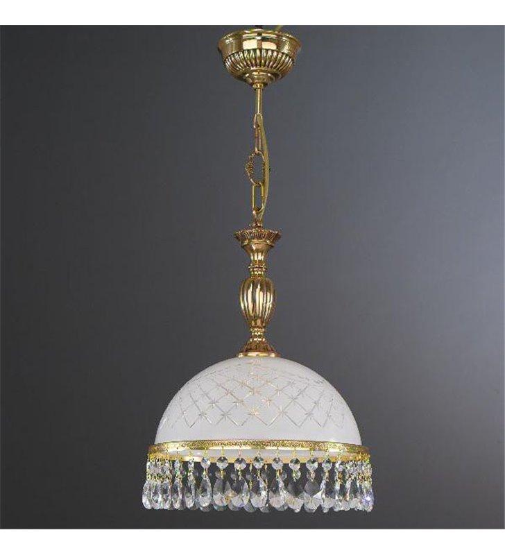 Lampa wisząca do kuchni Topaz Złoto
