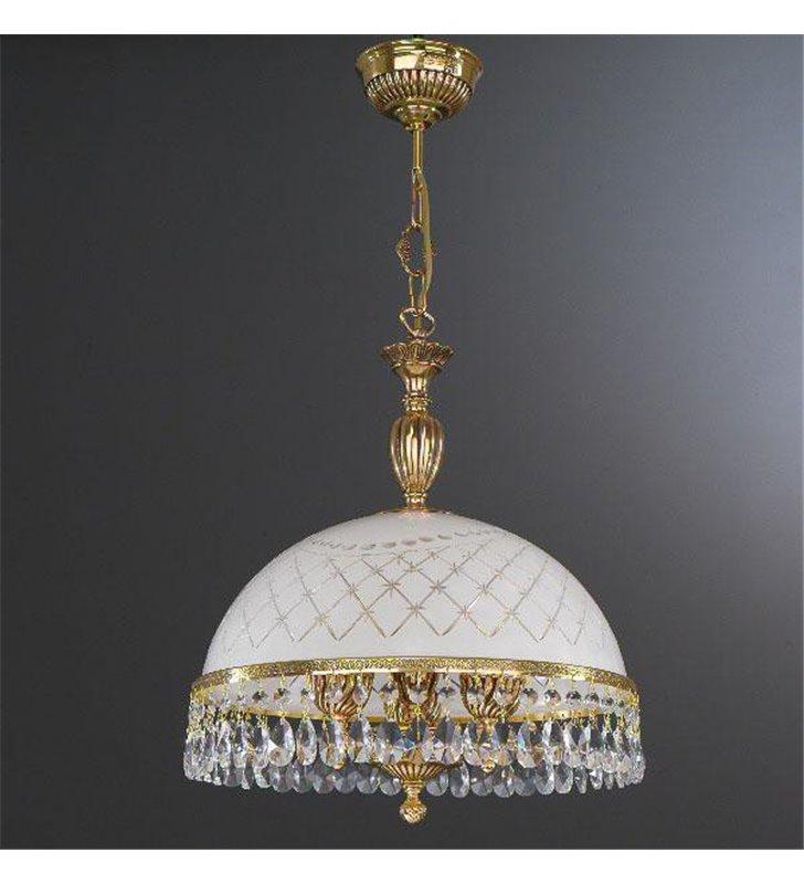 Ekskluzywna wisząca lampa Topaz Złoto