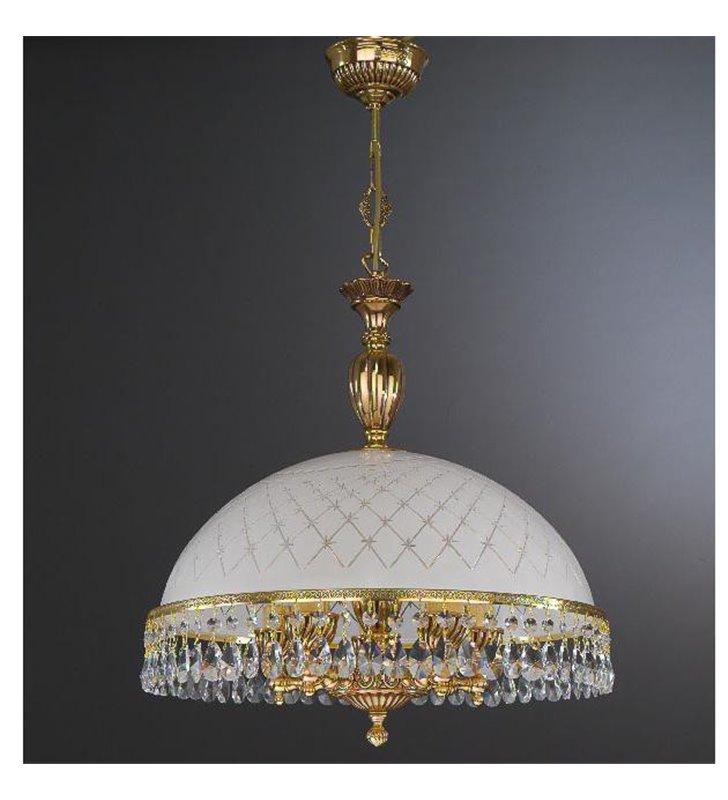 Lampa wisząca na pięć żarówek Topaz Złoto
