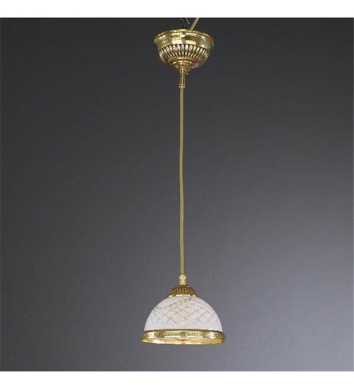 Lampa wisząca nad barek Topaz1 Złoto