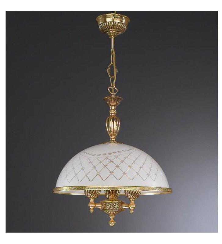 Ekskluzywna lampa wisząca Topaz1 Złoto