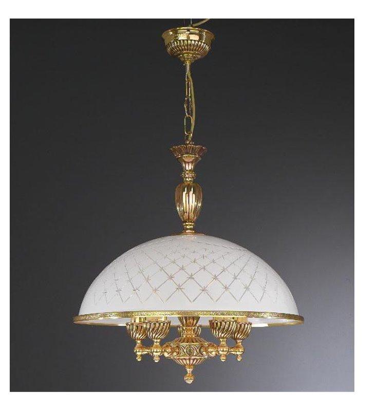 Lampa wisząca ekskluzywna do salonu Topaz1 Złoto