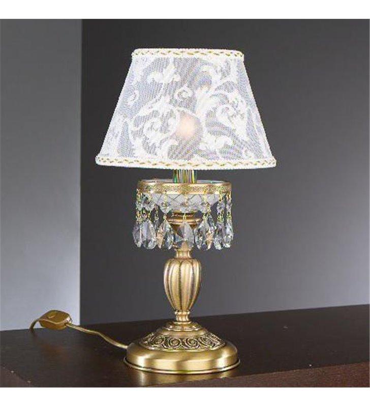 Stylowa ekskluzywna lampa mosiężna Wenecja