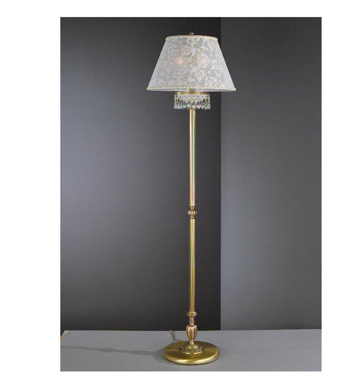 Mosiężna lampa podłogowa Wenecja