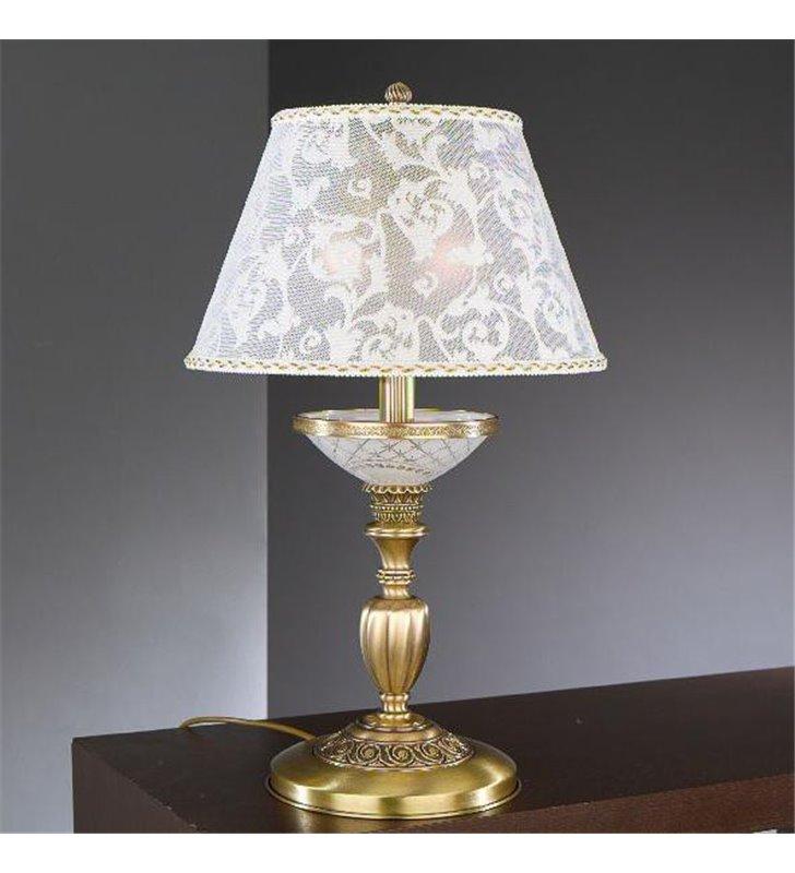 Elegancka lampa na komodę nocna do sypialni salonu Wenecja1 klasyczna włoska