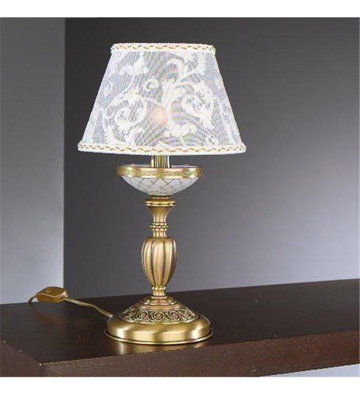 Lampa stołowa włoska na komodę do sypialni do salonu Wenecja1