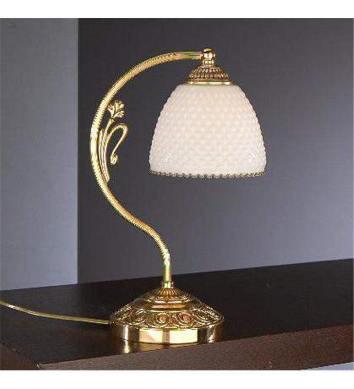 Lampa stołowa z mosiądzu Prato