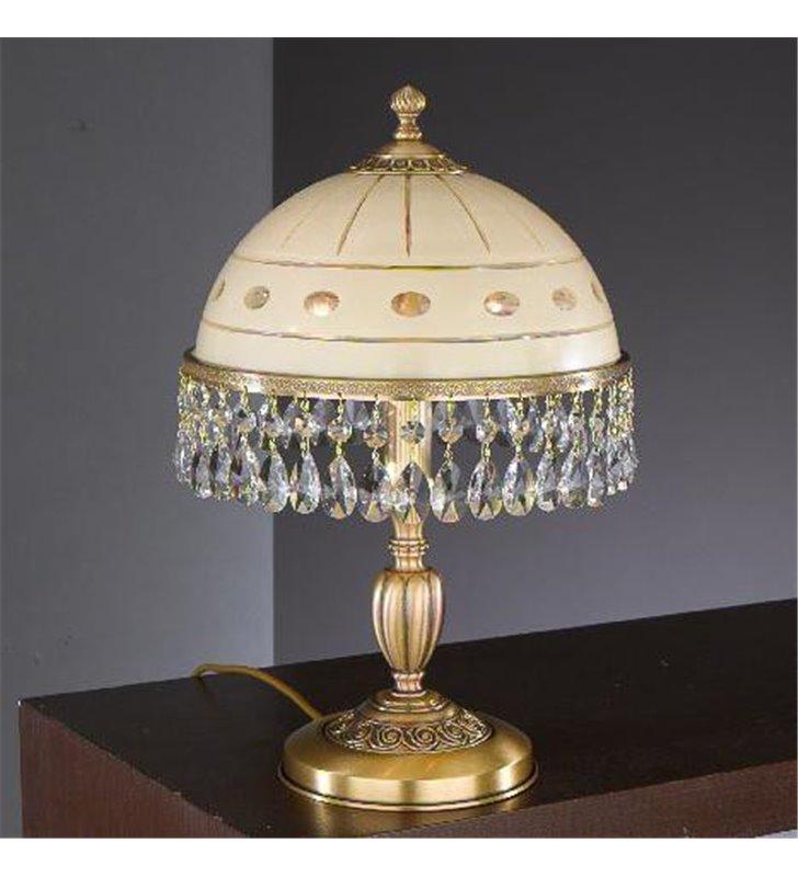 Ekskluzywna lampa z kryształkami Katania