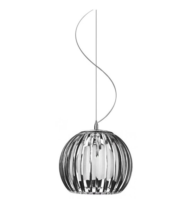 Lampa wisząca Arcada Black czarna nowoczesna - DOSTĘPNA OD RĘKI