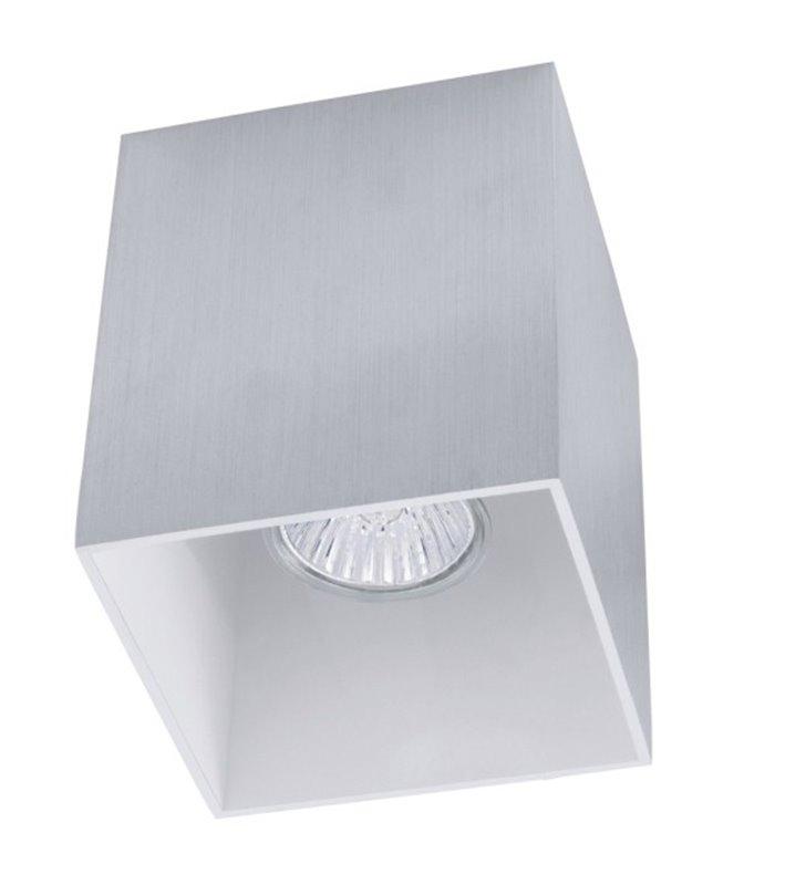Lampa sufitowa Bantry downlight kwadratowa aluminium