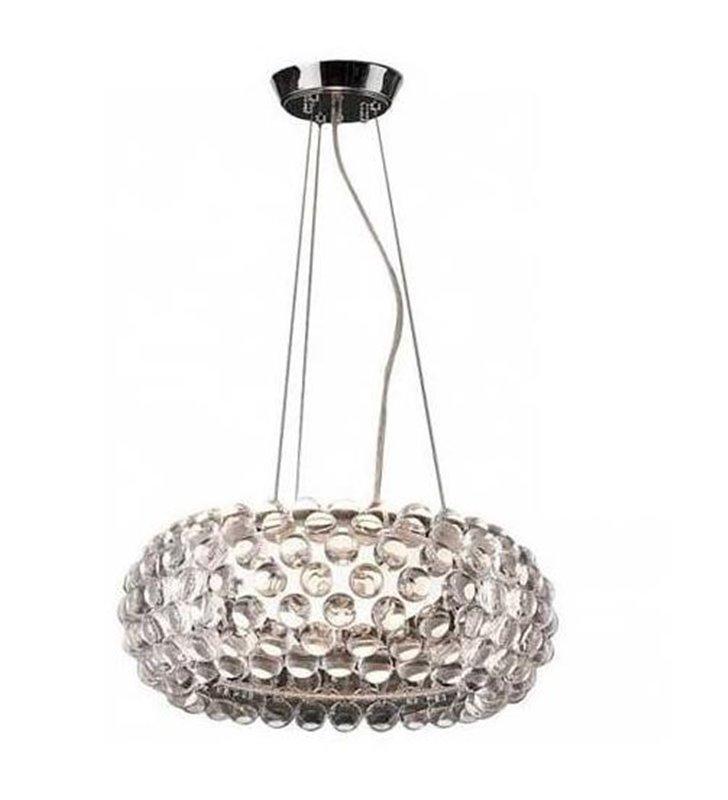 Designerska lampa wisząca Acrylio klosz akrylowe kulki