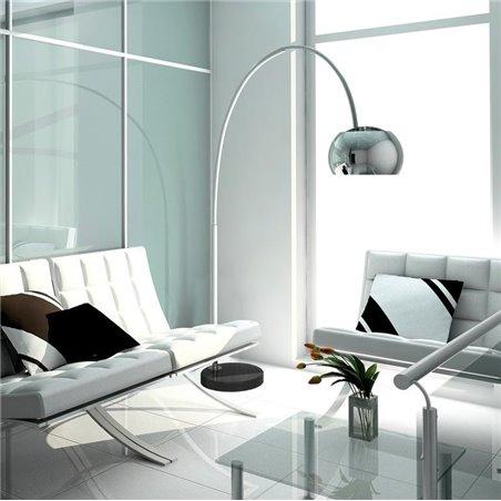 Lampa podłogowa na wysięgniku Cosmo wysoka do sypialni biura salonu