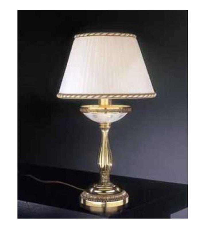 Lampa nocna Lacjum złota