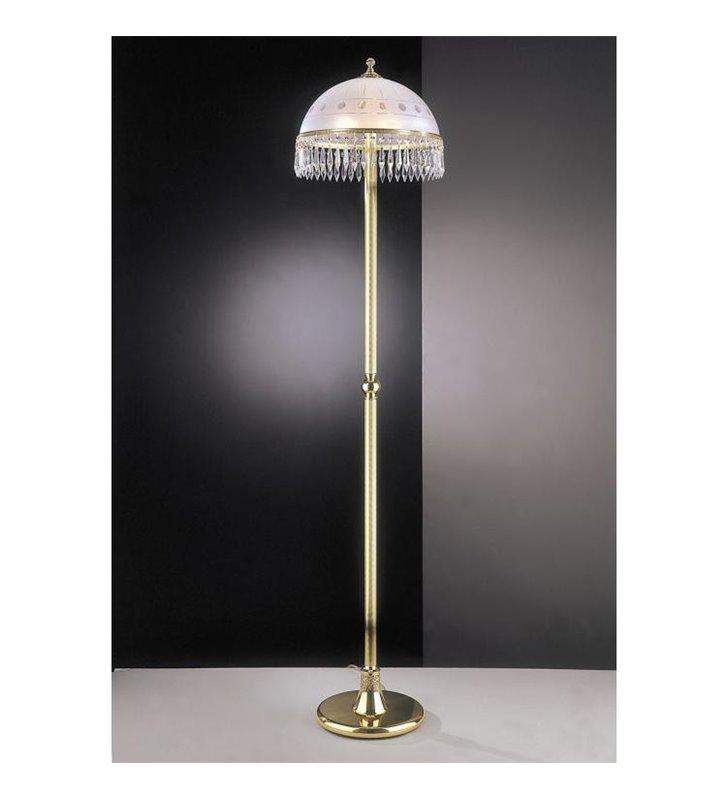 Lampa podłogowa Apulia złota