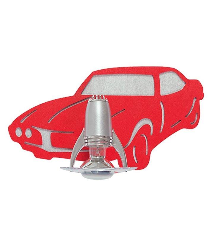 Kinkiet Auto czerwony samochód dla chłopca
