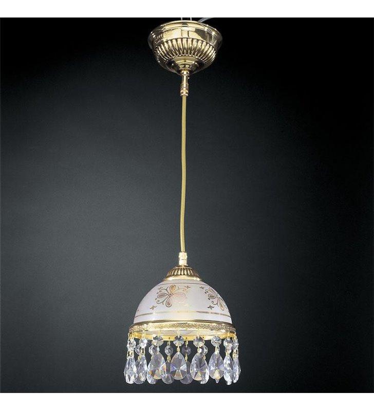 Lampa wisząca Afragola złota