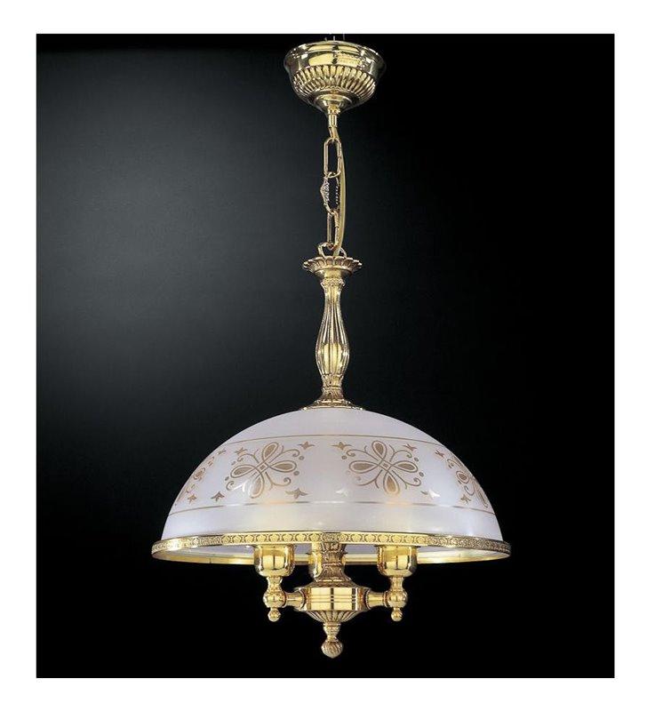 Lampa wisząca Benevento złoty
