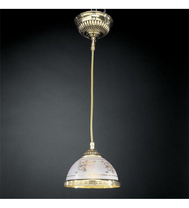 Lampa wisząca Benevento złoty pojedyńcza