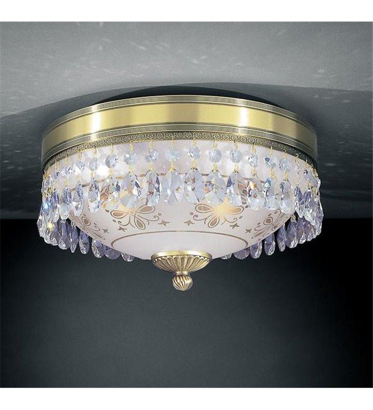 Włoski plafon z kryształami Nuoro 300