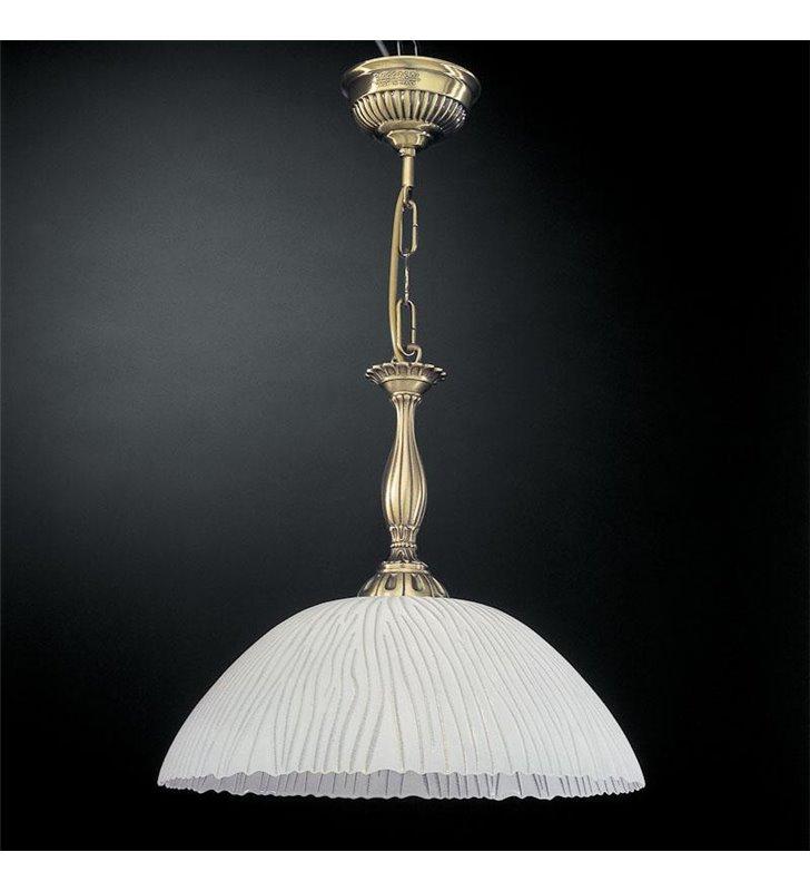 Biała lampa wisząca Gorycja