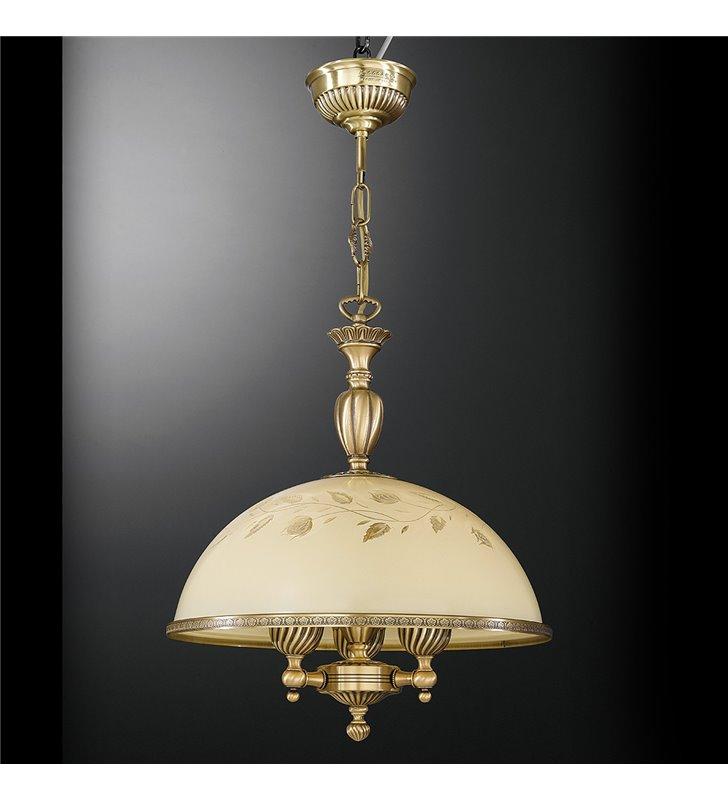 Lampa wisząca Latina kolor mosiądz