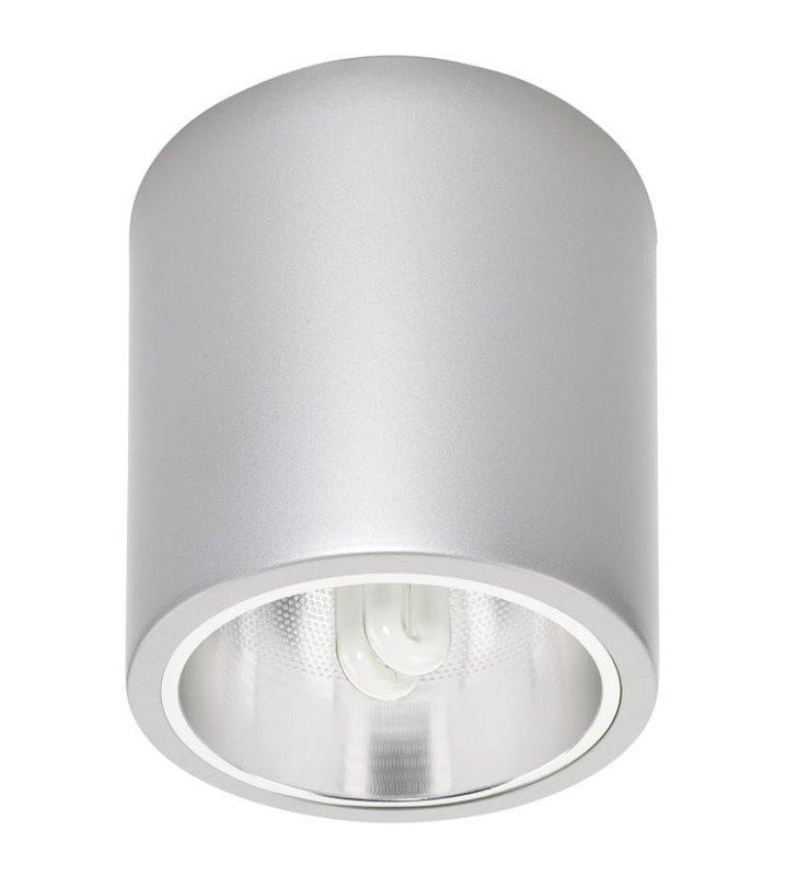 Lampa sufitowa Downlight Silver srebrna okrągła