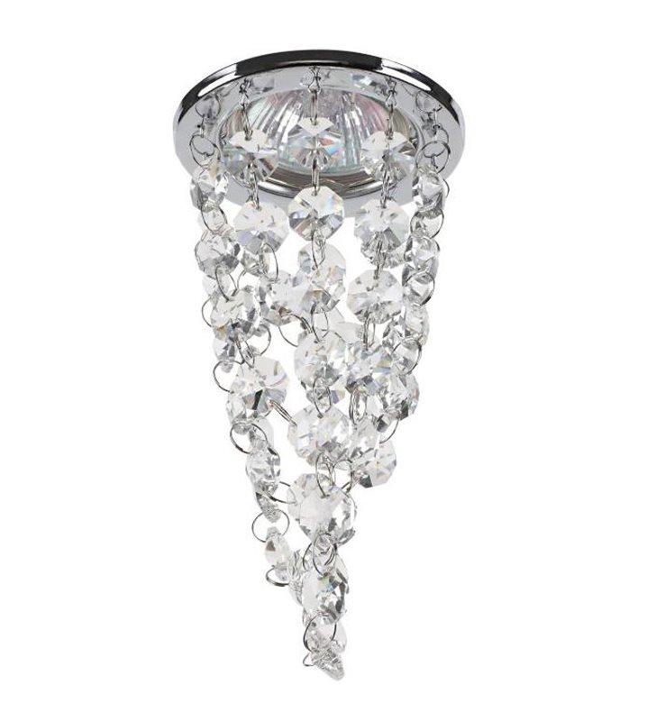 Oprawa punktowa z kryształkami