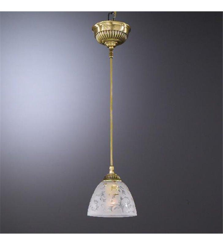 Lampa wisząca Alatri Mosiądz