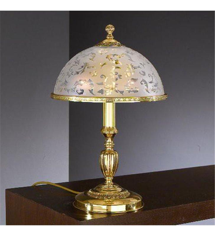 Lampa Bollate złota