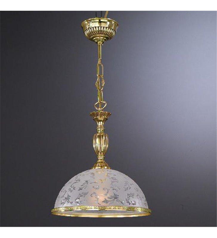 Lampa wisząca Bollate złota