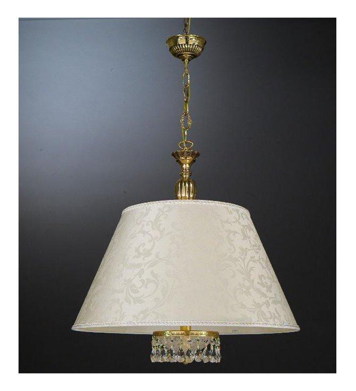Lampa wisząca Battipaglia złota