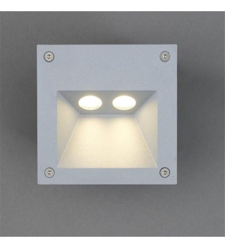 Lampa zewnętrzna do wbudowania w elewację do podświetlenia schodów Rimo LED IP65