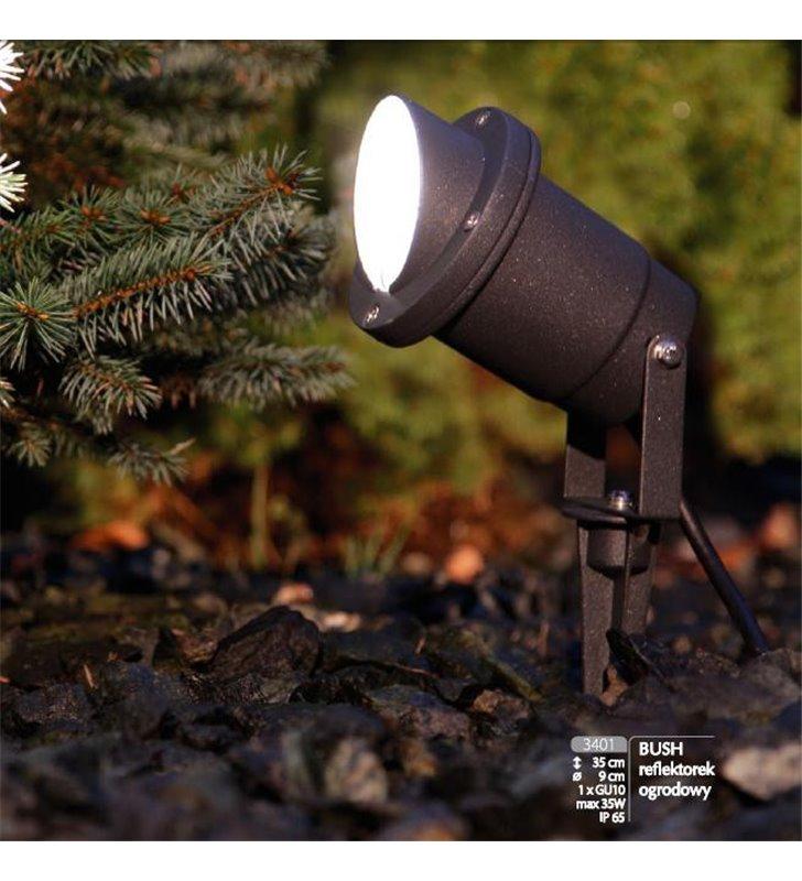 Lampa ogrodowa Bush podświetlająca ze szpikulcem