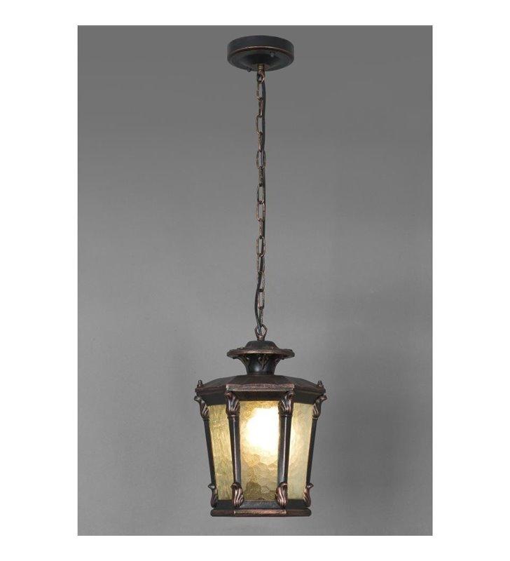 Lampa wisząca ogrodowa Amur w stylu klasycznym dworkowym dekoracyjna