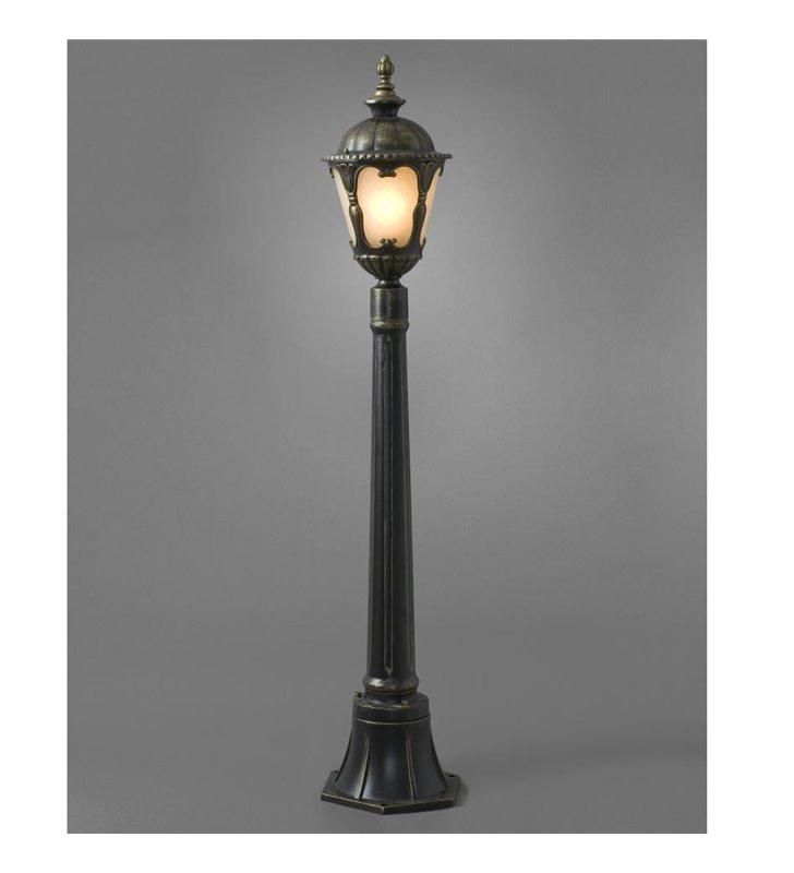Klasyczna lampa ogrodowa stojąca Tybr