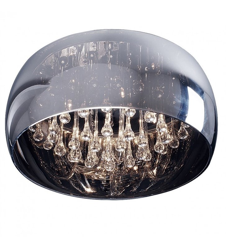 Plafon Crystal 400 elegancki stylowy z podłużnymi kryształami do salonu jadalni sypialni na przedpokój
