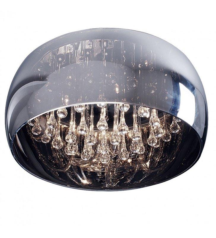 Plafon z podłużnymi kryształami Crystal 500 w stylu glamour