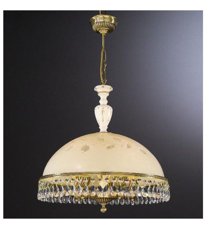 Lampa wisząca Arsizio mosiądz