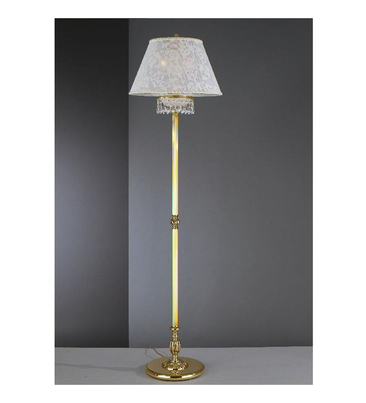 Lampa podłogowa Wenecja_Złoto PN7130-2