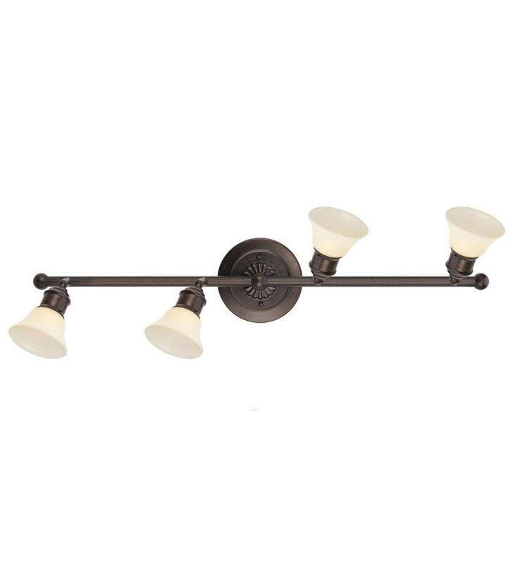 4 punktowa klasyczna lampa typu spot Alamo