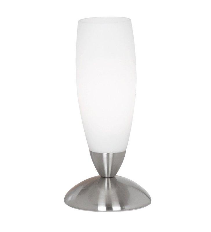 Lampka stołowa Slim mała szklana włącznik na kablu