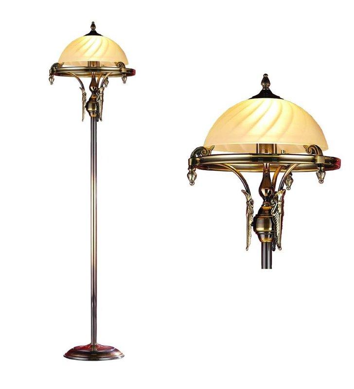 Lampa podłogowa Cordoba_II - patyna połysk