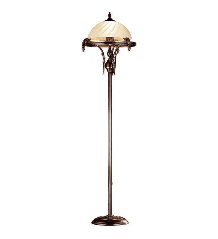 Lampa podłogowa Cordoba_II - patyna mat