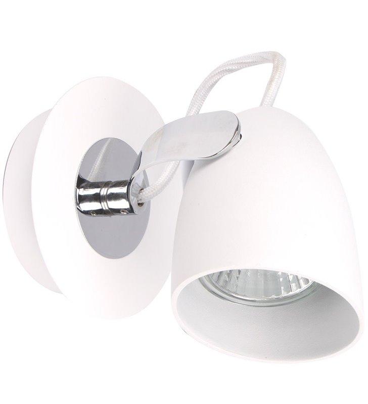 Lampa ścienno sufitowa Oxford biała nowoczesna