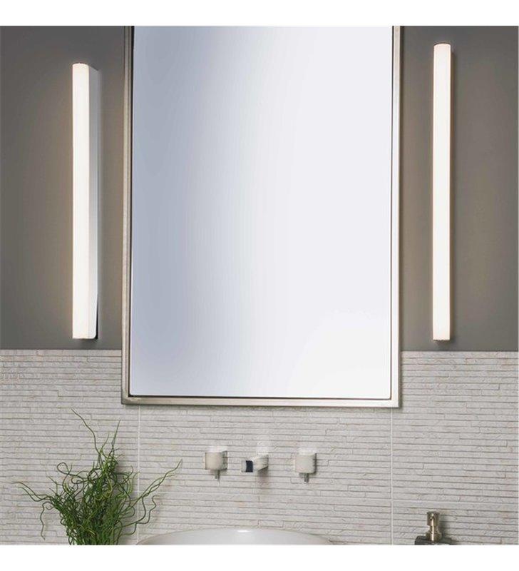 Kinkiet łazienkowy Artemis LED 90cm chrom polerowany