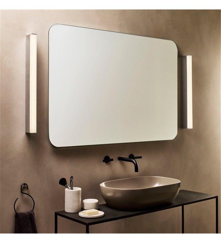 Lampa łazienkowa nad lustro lub z boku lustra Sparta 60cm LED 3000K chrom polerowany