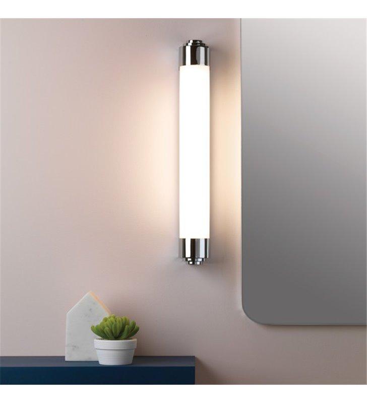 50cm podłużna lampa łazienkowa Belgravia LED montaż pionowy lub poziomy