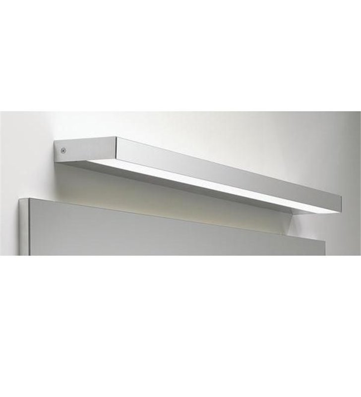 Chromowana nowoczesna lampa nad lustro łazienkowe Axios 60cm LED 3000K